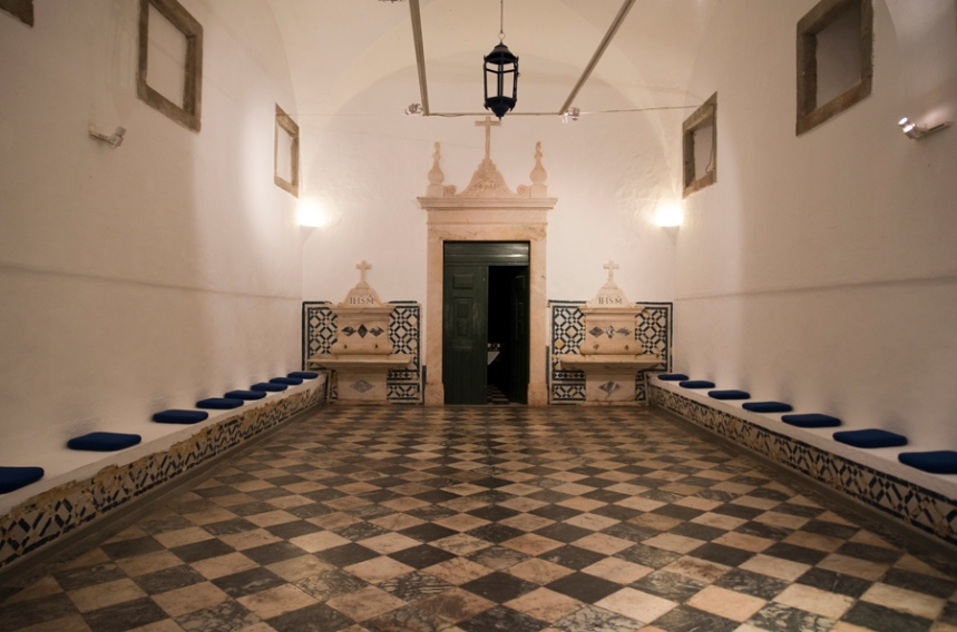 Uma das várias salas