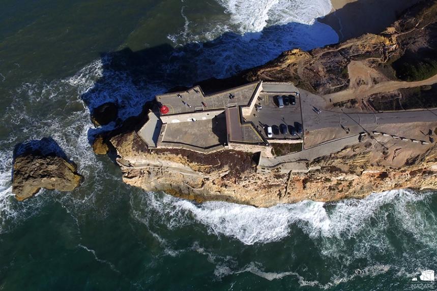 Forte de S. Miguel Arcanjo - cortesia CM Nazaré