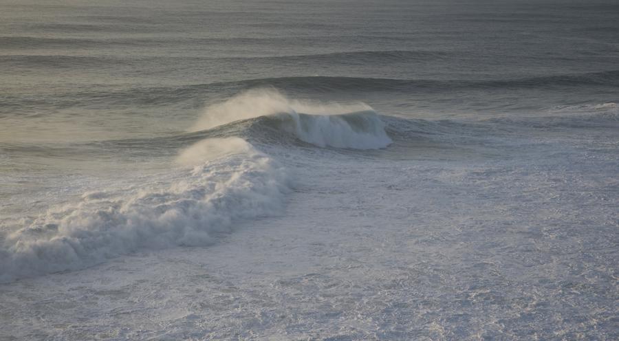 Ondulação na Praia do Norte