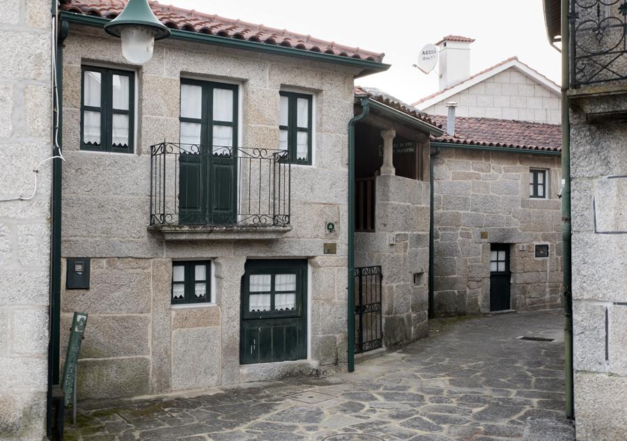 A maior parte das casas estão bem preservadas