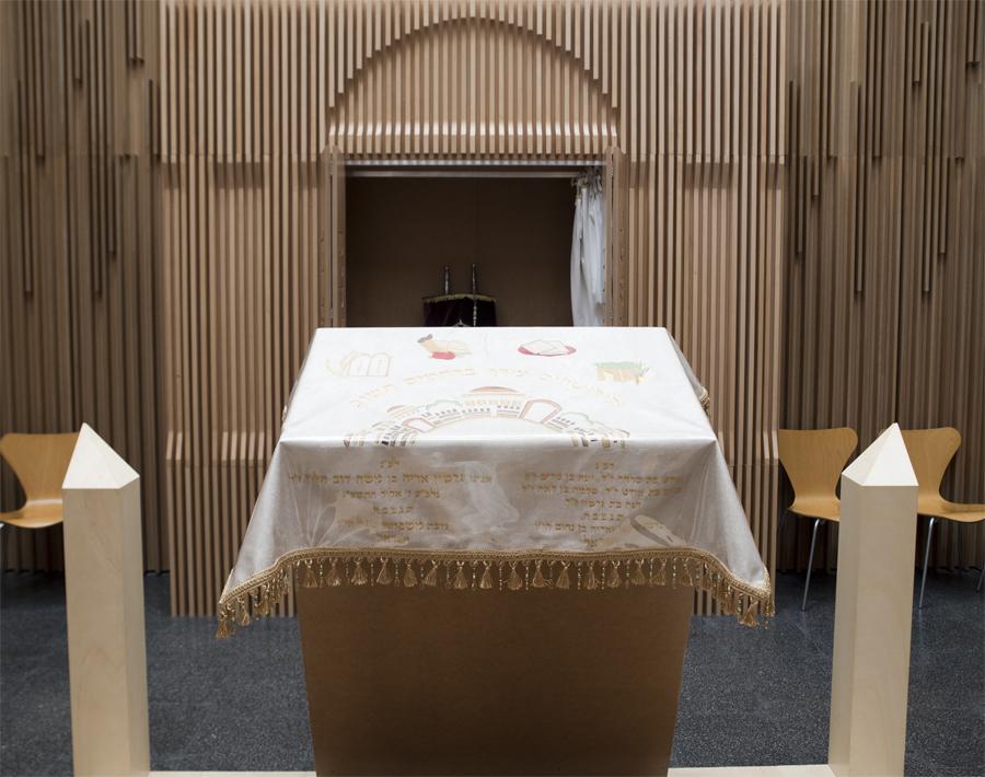 Interior da Sinagoga
