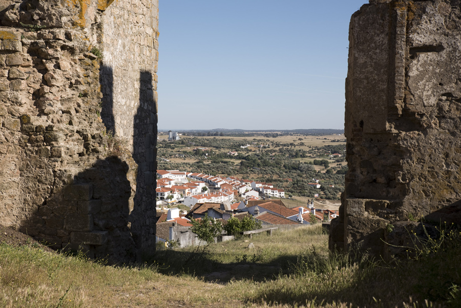 Vista do Castelo para Arraiolos