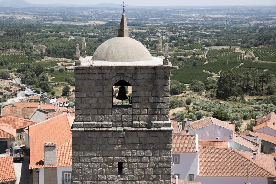 Vista junto à torre de menagem