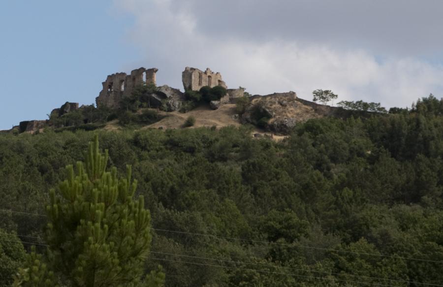 O Palácio visto de Figueira Castelo Rodrigo