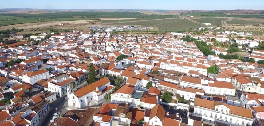 Vista de Ferreira do Alentejo - ©  C. M. Ferreira do Alentejo