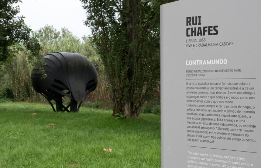 Escultura de Rui Chafes