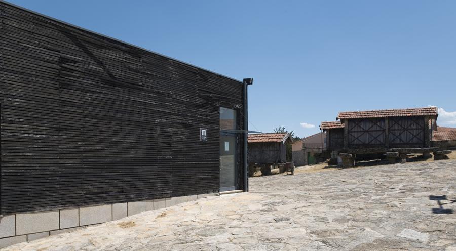 Museu de Pendilhe e os espigueiros