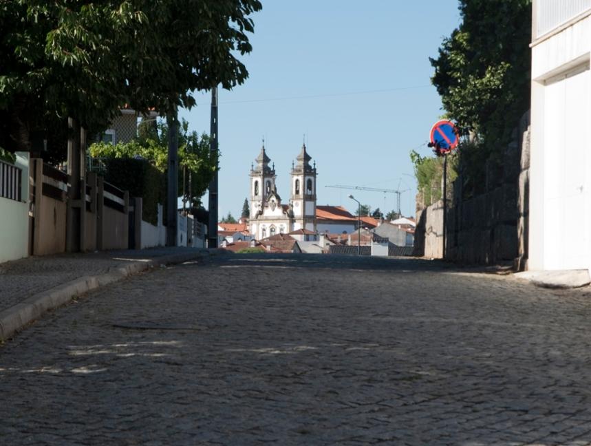 Sangemil e a vista para Penalva do Castelo