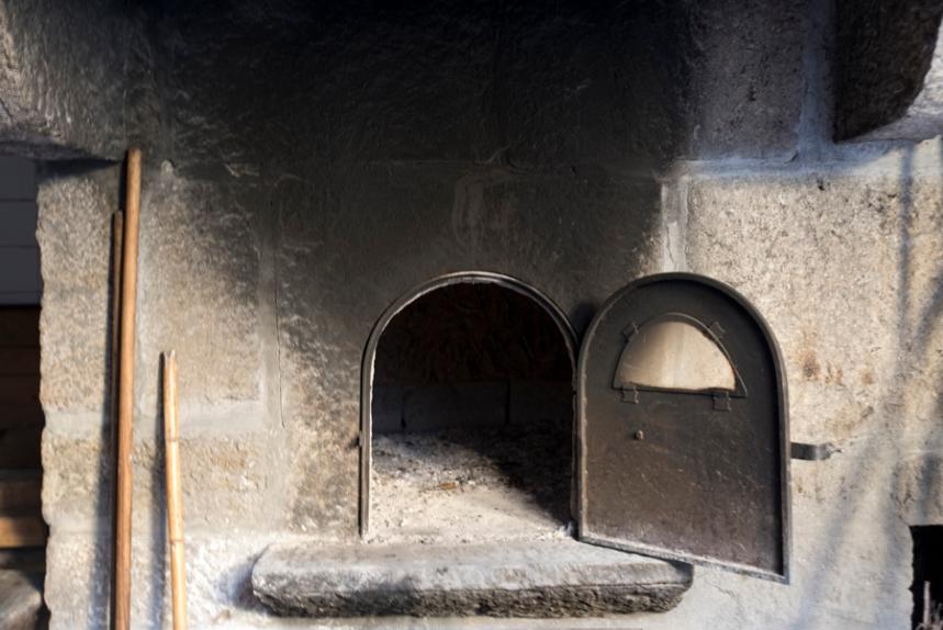 O forno
