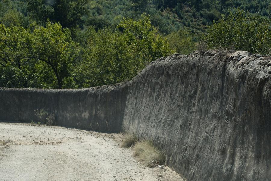 O muro que protege a Tapada tem 21 km de extenção
