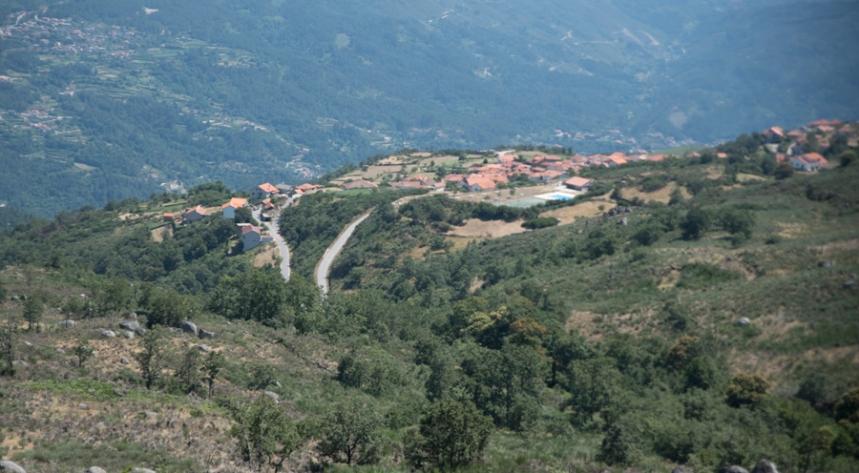 Serra de Montemuro - Vista de Campo Benfeito
