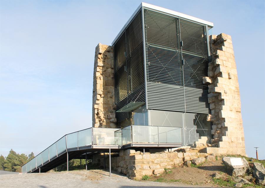 Torre de Vilharigues após requalificação. ©  CM Vouzela