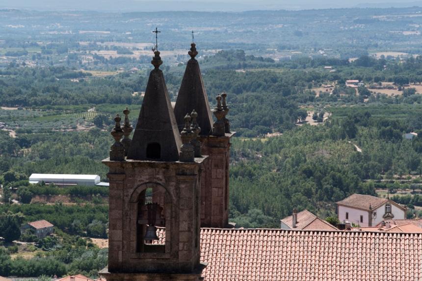 Vista do terraço do Palácio