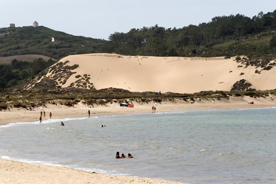 A duna vista de S. Martinho do Porto