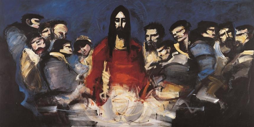 """""""Sagrada Família"""" de Artur Bual - Centro de Formação Gil Vaz ©CM Montijo"""