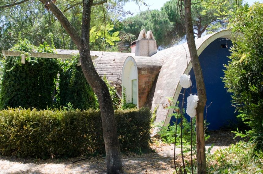 Casa do professor na Colónia de Santo Isidro de Pegões