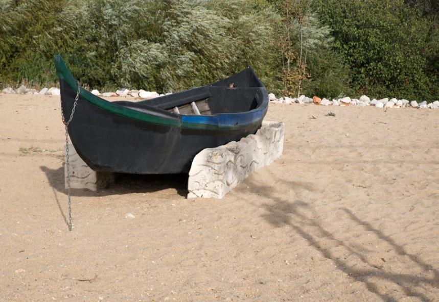 Réplica de barco avieiro