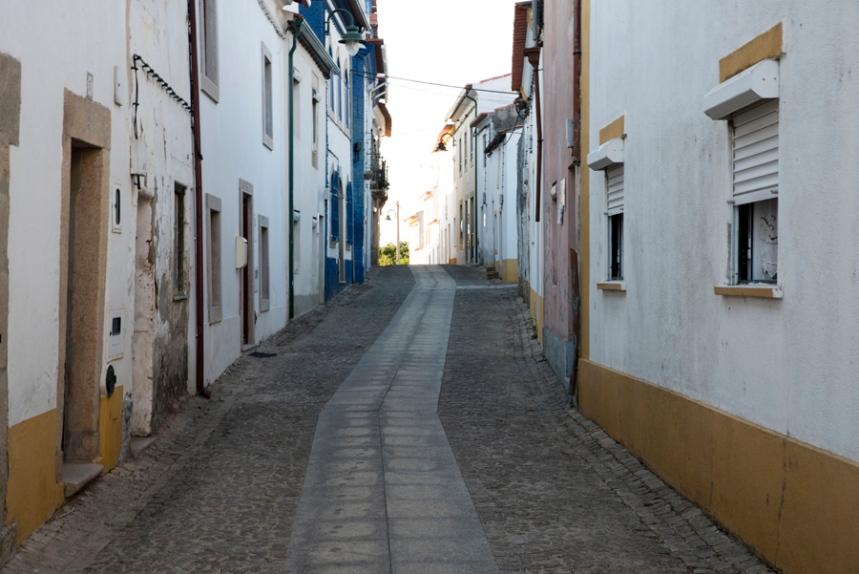 Rua em Amieira do Tejo