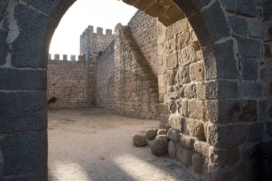 Interior do castelo