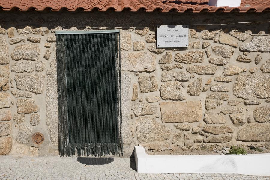 Casa onde viveu Eugénio de Andrade