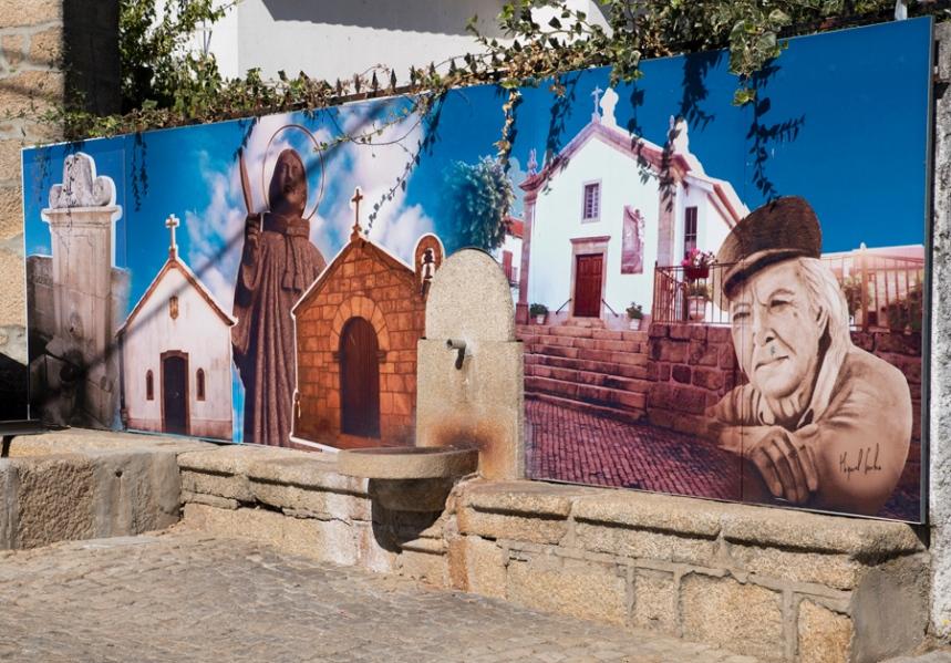 Mural no fontanário