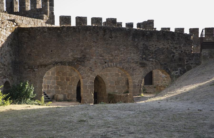 Interior do castelo