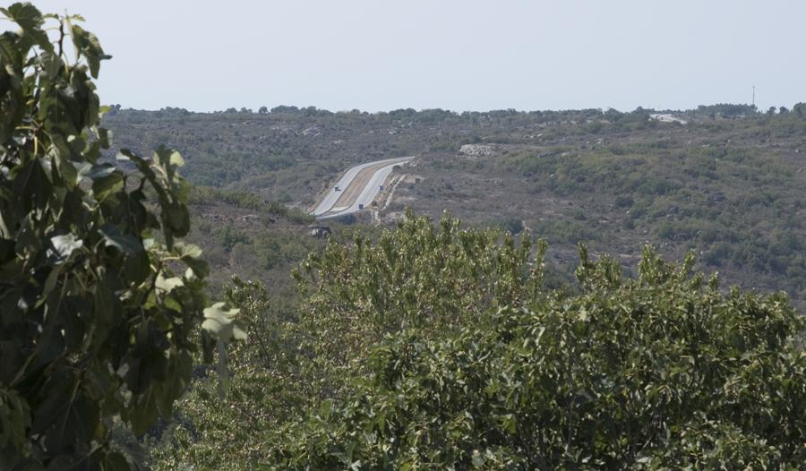 Vista para a A25