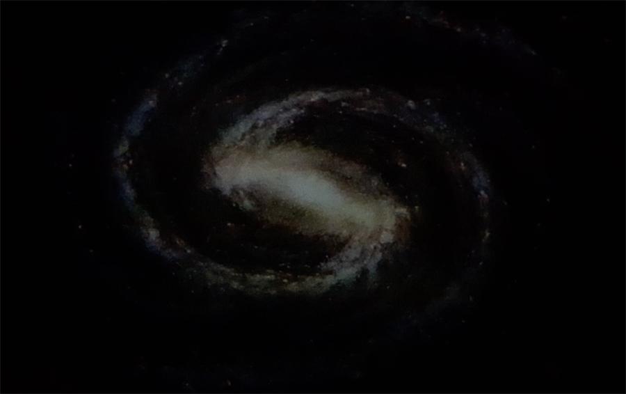 Imagem no planetário