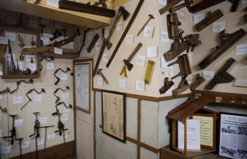 Instrumentos do carpinteiro