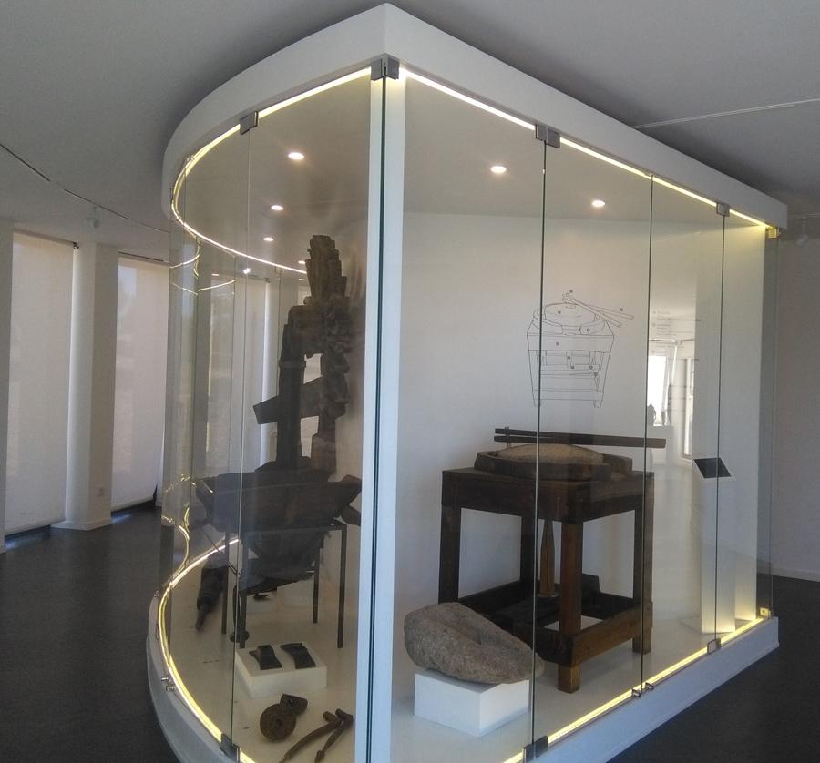 Interior do Museu do Moinho na Portela de Oliveira  ©Museu do Moinho