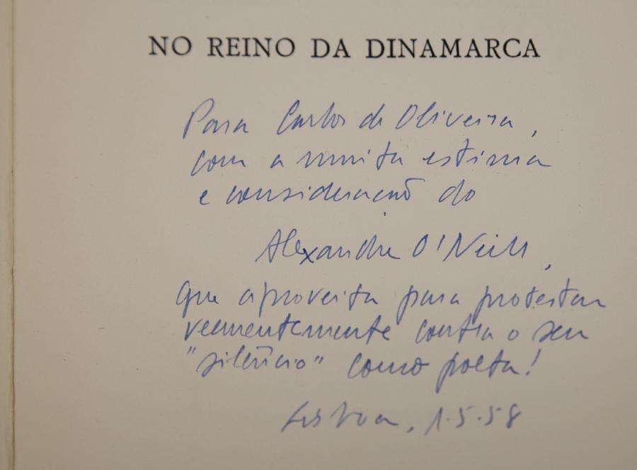 Carta de Alexandre O'Neill a Carlos Oliveira