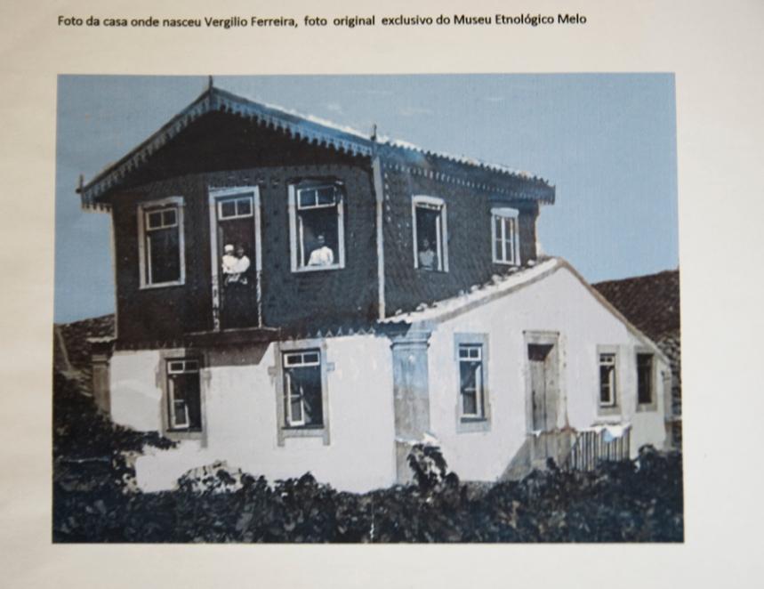 A casa onde nasceu Vergílio ©Museu Etnológico Melo
