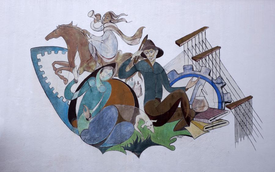 Mural na Covilhã