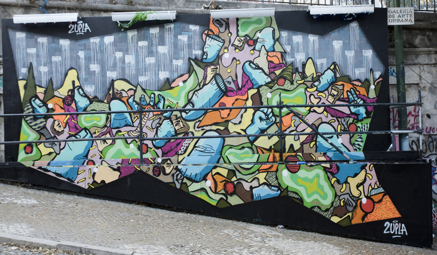 Galeria de Arte Urbana - Calçada da Glória