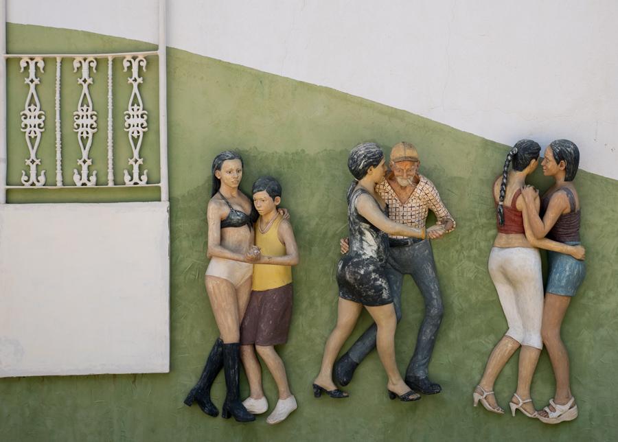 Mural escultórico de John Ahearn