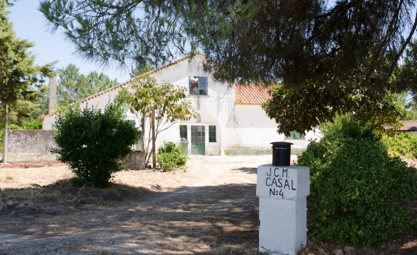 Uma das casas que mantém a arquitectura original