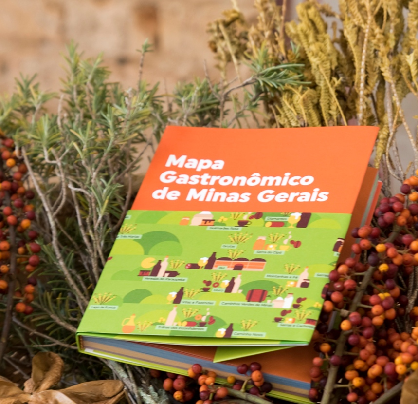 Mapa Gastronómico de Minas Gerais