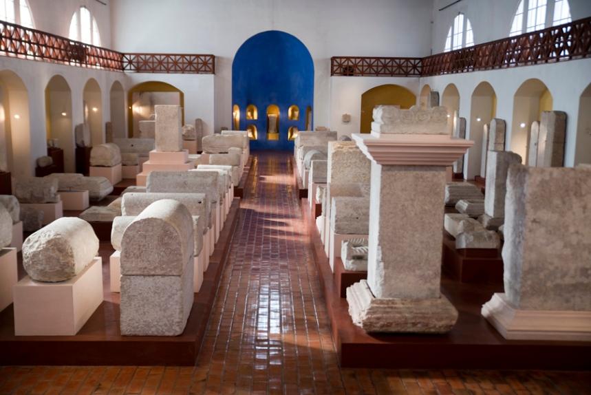 Peças romanas do Museu