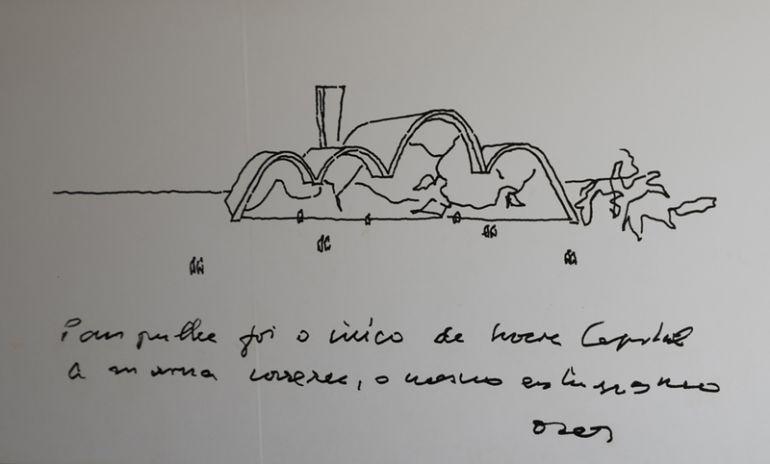 Casa do Baile - mural de Niemeyer