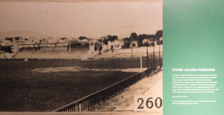 Primeiro estádio do Cruzeiro