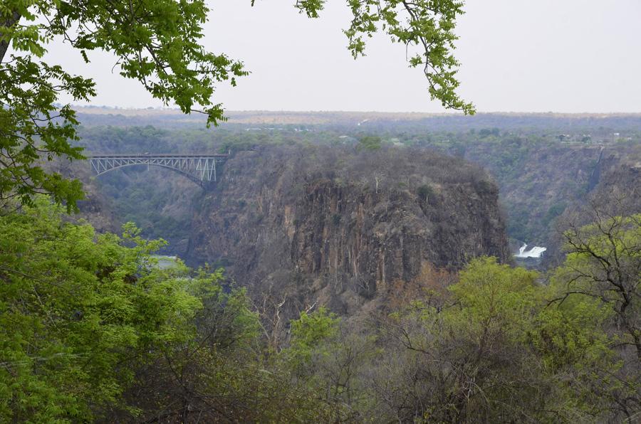 A vista para o Zambeze