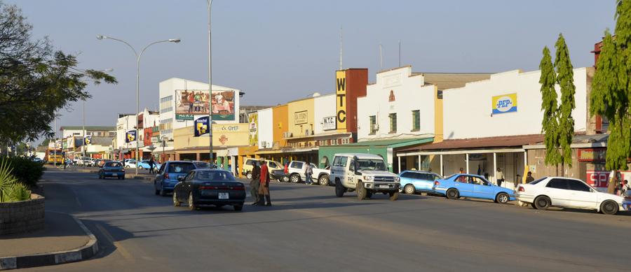 A cidade de Livingstone