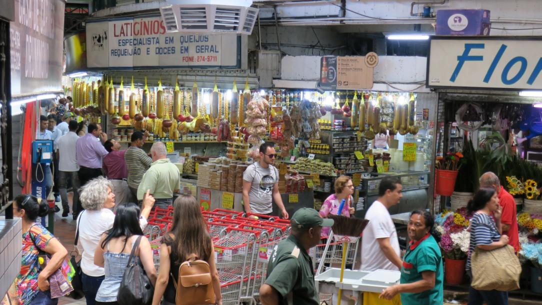 O Mercado Central é um dos pólos turísticos de belo Horizonte e recebe 1.2 milhões de visitantes por mês.
