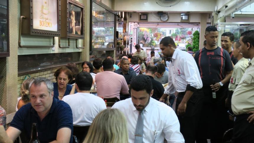 O Casa Cheia está há 40 anos no Mercado Central e é um dos restaurantes mais conhecidos.