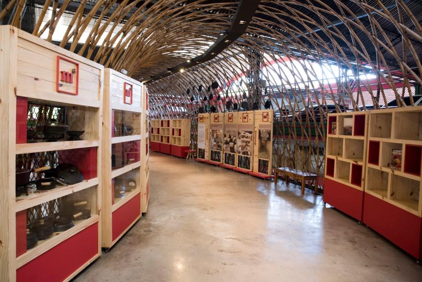 O Mercado Central vai ampliar as instalações e o novo piso inspira-se no Mercado da Ribeira de Lisboa.