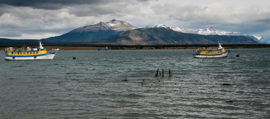 Porto em Puerto Natales