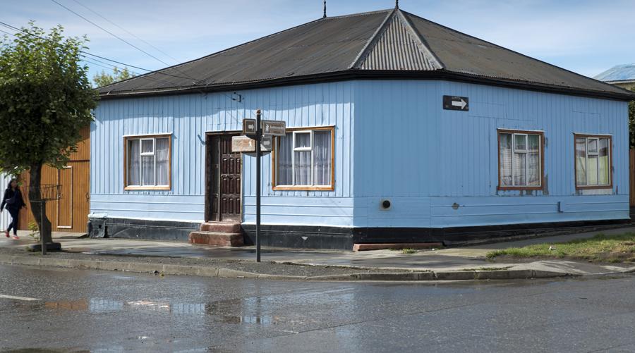 Casa tradicional em Puerto Natales