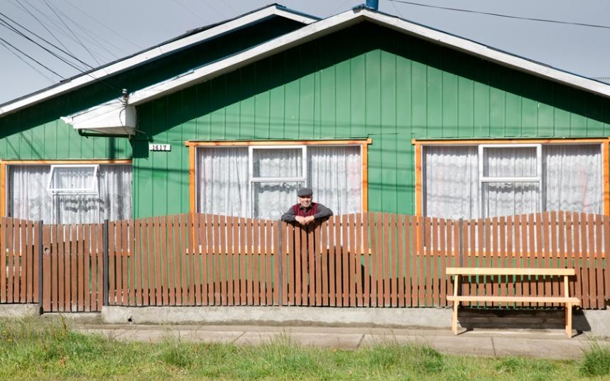 Casa típica da Patagónia chilena