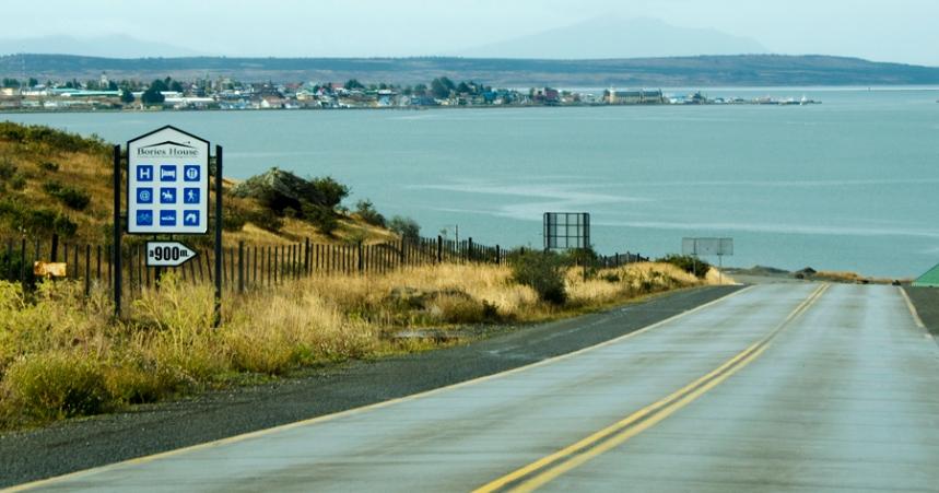 Vista de Puerto Natales