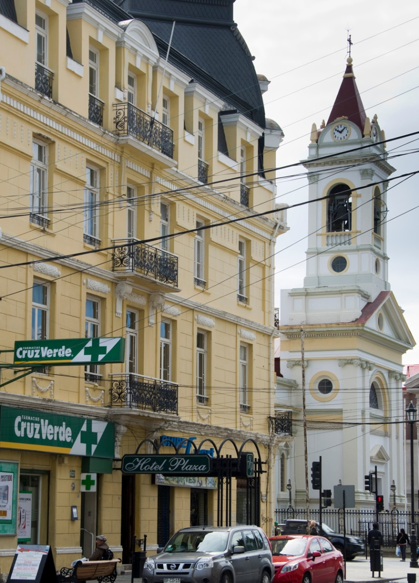 Hotel Plaza ao lado da Catedral